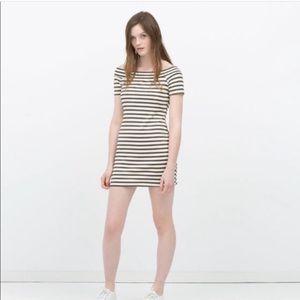 Zara Bodycon Striped Dress
